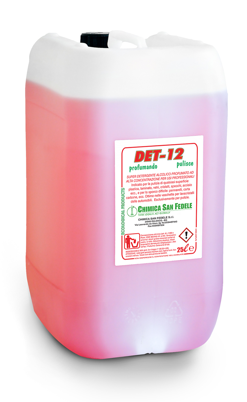 DET 12 – GLASS CLEAR RED