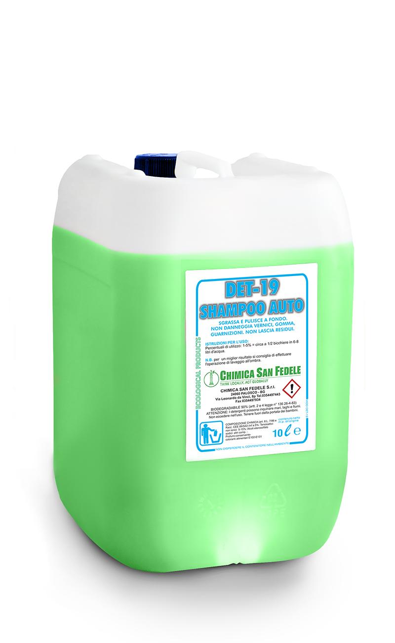 Det19 San Fedele Cleaners Shampoo Auto